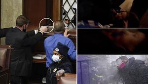 ABDde Kongre binasında çıkan olaylarda 1 kişi vuruldu