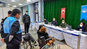 Engelli vatandaşlara 150 simit camekânı
