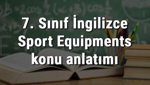 7. Sınıf İngilizce Sport Equipments (Spor Ekipmanları) konu anlatımı