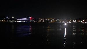 Beşiktaşta denize atlayan kişi kayboldu
