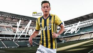 Mesut Özilin Fenerbahçede giyeceği forma numarası Özellikle istedi...