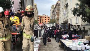 Avcılarda balkonları çöken binanın önüne yeniden pazar yeri izni verildi