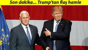 Son dakika: ABD Başkanı Trump, Mike Pencein üst düzey danışmanının Beyaz Saraya girişini yasakladı