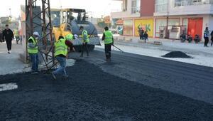 Tarsus'ta caddeler yenileniyor