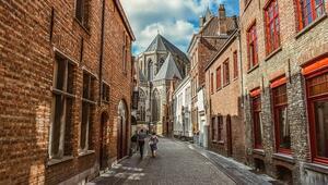 Masal gibi bir şehir: Brugge
