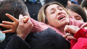 Yorgun mermi kurbanı Büşra, son yolculuğuna uğurlandı