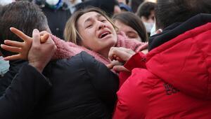 Büşra, gözyaşlarıyla son yolculuğuna uğurlandı