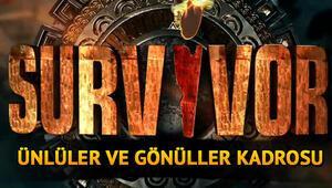 Survivor yarışmacıları kimdir Survivor 2021 kadrosu dikkat çeken isimlerle gündemde... İşte Survivor Ünlüler ve Gönüllüler yarışmacılarının tamamı