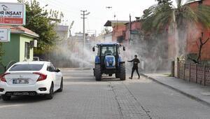 Tarsus'ta salgınla mücadelede ekip sayısı arttı