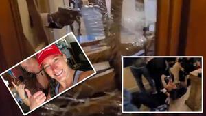 ABDde Kongre baskınında vurulan kadının görüntüleri ortaya çıktı