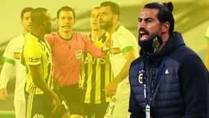 Fenerbahçe-Alanyaspor maçında saha karıştı Volkan Demirel ve Tzavellas...