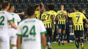 Fenerbahçe 2-1 Alanyaspor / Maçın özeti ve goller