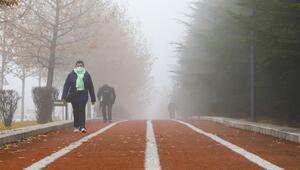 Ankara yine sisli