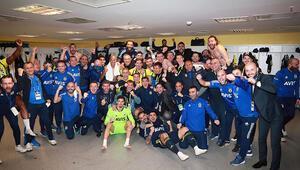 Fenerbahçede Alanyaspor sonrası büyük coşku