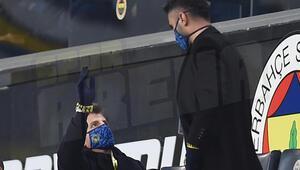 Fenerbahçe-Alanyaspor maçında Emre Belözoğlu ve Selçuk Şahinin zor anları