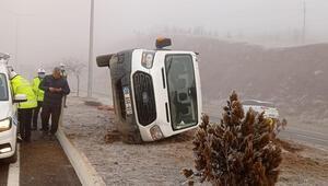 Elazığ'da 2 ayrı trafik kazası : 5 yaralı