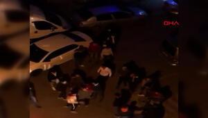Esenyurtta tepki çeken görüntü Vatandaşlar polise haber verdi