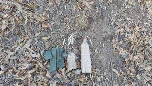 Bitlis'te, PKKya ait toprağa gömülü EYP imha edildi
