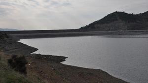 Tahtaköprü Barajında doluluk oranı yüzde 5e düştü