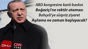Boğaziçinde rektör ataması, ABDdeki kanlı baskın, ittifak mesajı... Erdoğandan flaş mesajlar