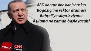 Cumhurbaşkanı Erdoğandan son dakika önemli açıklamalar