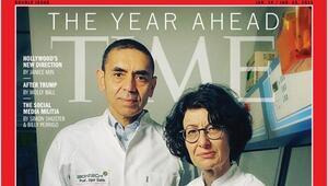 Prof. Dr. Uğur Şahin ve Özlem Türeci dünyaca ünlü TIME dergisinin kapağında