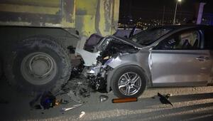 Başakşehirde feci kaza Tüm çabalara rağmen kurtarılamadı