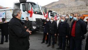 Melikgazi'de hizmet araçları meclis üyelerine tanıtıldı