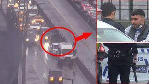 İstanbulda heyecan yaratan kovalamaca... Köprü üstünde yakalandılar