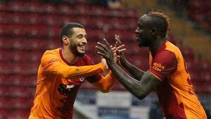 Galatasarayda Belhandadan hat-trick ve Arda Turan itiraf