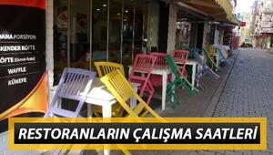 Kafeler, restoranlar ve lokantalar ne zaman açılacak İçişleri Bakanlığı genelgesinde detaylar belli olmuştu