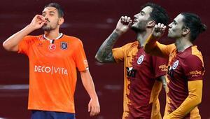 İrfan Can Kahveci, Taylan Antalyalı ve Oğulcan Çağlayandan dikkat çeken gol sevinci Başakşehirden yanıt geldi