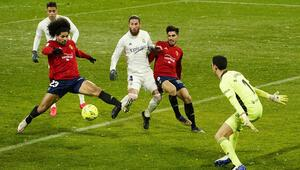 Real Madrid, Osasuna deplasmanında golsüz berabere kaldı