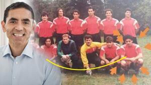 Prof. Dr. Uğur Şahin amatör futbolcu çıktı