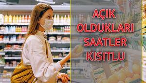 Marketler kapandı mı Hafta sonu marketler saat kaça kadar açık İşte hafta sonu marketlerin çalışma saatleri