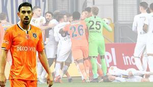Galatasarayın istediği İrfan Can Kahveci, Ankaragücü Başakşehir maçında çok sinirlendi...