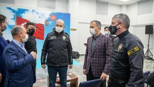 İçişleri Bakanı Süleyman Soylu Takviye Kuvvet Müdürlüğünü ziyaret etti