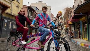 Onu ne kanser ne de korona durdurdu... Bisiklet üzerinde 30 bin kilometrelik yolculuğu çıktı