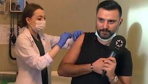 Koronavirüs aşısı olan Alişandan açıklama: Ben de gönüllüyüm