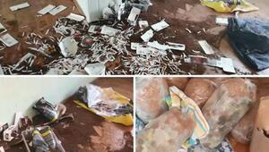 Eskişehir'de imalathaneye çevrilen 3 evde 168 kilo kaçak tütün ele geçirildi