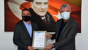 Narlıdere Belediyesine ISO sertifikası