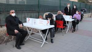 Midyatta kan bağışı kampanyasına destek