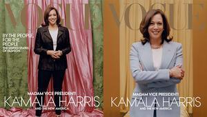ABDnin ünlü moda dergisi Voguea Kamala Harris tepkisi