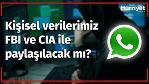 WhatsApp Bilgilerimizi FBI ve CIAe Verebilecek mi