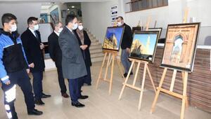 Midyat polisinin eğitim verdiği öğrenciler fotoğraf sergisi açtı