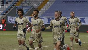 BB Erzurumspor 0-3 Fenerbahçe (Maç özeti ve golleri)