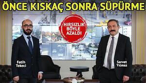 Ankara'da hırsızlık işte böyle azaldı