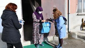 Bin 300 kadına hijyen desteği