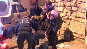 Beyoğlunda silahlı saldırıda 2 kişi yaralandı