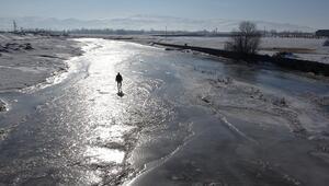 Van'ın iki ilçesi Sibirya'ya döndü... Kartpostallık görüntüler ortaya çıktı